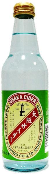 大川食品行业大阪苹果酒 330 毫升瓶 24 件