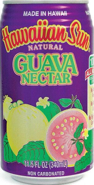 Hawaiian Sun グアバネクター 340 ml cans 24 pieces [グァバネクター]