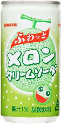 Sangaria soft boobs and melon cream soda 190 g can 30 pieces [SANGARIA]