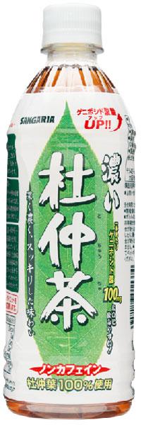 500 ml of 24 Eucommia Bark tea pet Motoiri [] which have dark sun Gaul