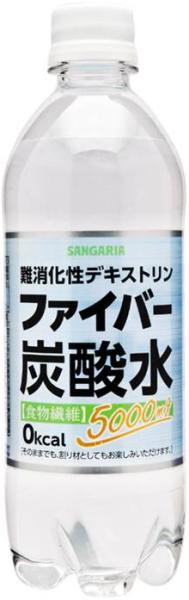 Sangaria fiber carbonated water 500 ml pet 24 Motoiri [at the rate of materials]