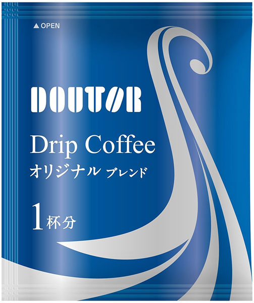 Doutor coffee drip coffee original blend 100 Cup with