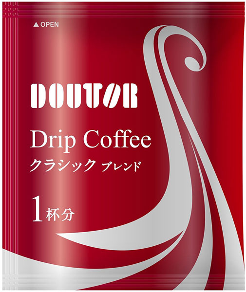 Doutor coffee drip coffee classic blend 100 Cup with