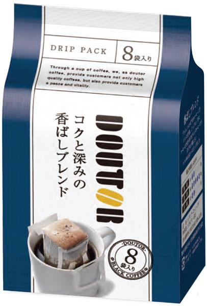 多倫包深烤的混合 (7 g x 8 袋) 對 36 件 [多倫 DRIPPACK 普通咖啡深入包。