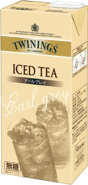 Twinings liquid tea Earl Grey tea unsweetened 1 L Pack 6 pieces