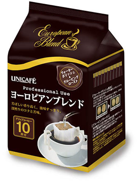 80 g of Uni Cafe professional use drip coffee European blends 12 case [drip coffee coffee drip coffee bag]