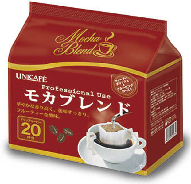 160 g of Uni Cafe professional use drip coffee Mocha blends 12 case [drip coffee coffee drip coffee bag]