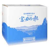 20 liters of water [] of famous clear water Tomita of Kishu Kumano
