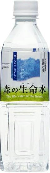 Water workshop forest forest life water 500 ml pet 24 pieces [mineral life water softener.