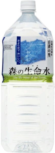 Water workshop forest forest life water 2 L pet 6 pieces [mineral life water softener.