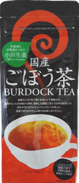 27 g of brook crude drug domestic production burdock tea (*18 bag of 1.5 g) 20 case [こくさんごぼうちゃ tea bag burdock tea]