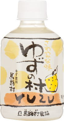 Umaji village cooperatives yuzu village drinks 280 ml pet 24 pieces [a refreshing taste yuzu beverage YUZU Citron juice yuzu drink.