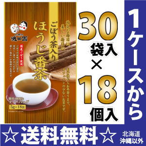 ISO country burdock root tea with offender bancha 5 g × 18 bags 30 pieces