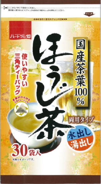 Containing 3 g of heart full field roasted tea tea bags *30 bag 12 bags [getting out getting out ほうじちゃ roasted tea tea おちゃ triangle tea bag tea pack water hot water]