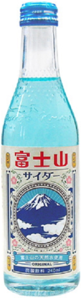 20 240 ml of Kimura drink Mount Fuji pop pot Motoiri [carbonated drink]
