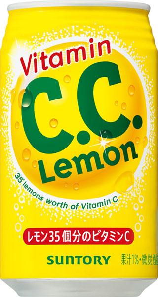 三得利 C.C.柠檬美国尺寸 350 毫升罐 24 件 [CC 柠檬]