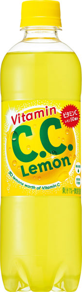 500 ml of 24 Suntory C.C. lemon pet Motoiri [CC lemon]