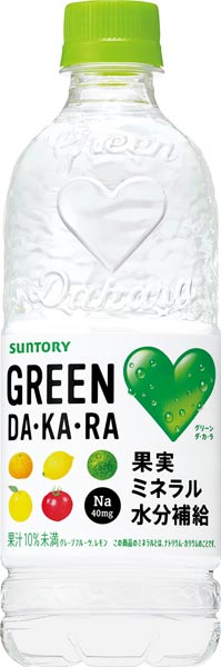 Suntory GREEN DA, KA, 500 ml of 24 *2 RA( グリーンダカラ) pet Motoiri bulk buying [heat stroke measures life partner ぐりーんだから DAKARA]