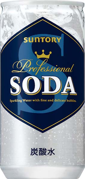 Suntory soda 200 ml cans 30 pieces [carbonated water allocation of soda water.