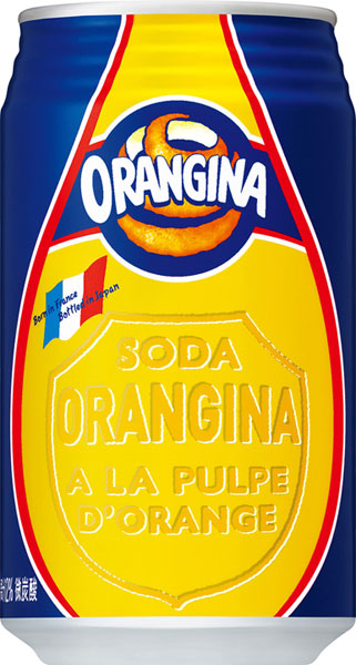 24 canned 340 ml of Oran Geena Motoiri [オレンジーナ orangina]