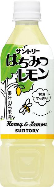 Suntory honey lemon 500 ml pet 24 pieces [honey]