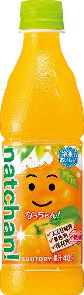 450 ml of 24 Suntory なっちゃん orange pet Motoiri [orange juice]