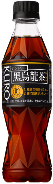 Suntory black oolong tea (smart bottle) 350 ml pet 24 Motoiri *2 bulk buying [black crow dragon 350 black oolong tea 350 black Woo Ron 350 black oolong tea 350 black ウーロトクホ 特保 plastic bottle 350PET food for specified health use thin model pet]