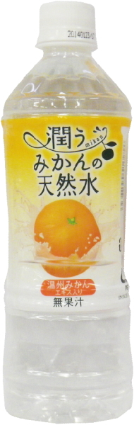 500 ml of 24 natural water pet Motoiri [near water] of the mandarin orange that Tominaga Boeki is moistened