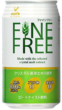 Tominaga trade Kobe kyoryuchi ファインフリー 350 ml cans 24 pieces [non-alcoholic beer FINEFREE 0.00%]