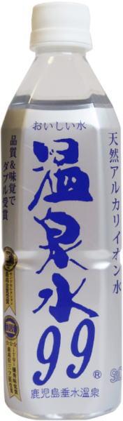Kagoshima Tarumi Onsen hot spring water 99 500ml pet 24 pieces [500 ミリペット 500 pet]