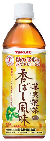 Yakult bansoreicha ( ばんそう clean toys ) spicy flavor 500 ml pet 24 pieces [ばんそう clean tea specific health food tokuho.