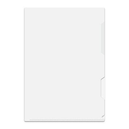 【送料無料】クリアーホルダーOCH125ホワイト厚手A4[クリアファイル][クリアーファイル][クリアホルダー][クリヤーファイル][クリヤーフォルダ]【中川製作所】