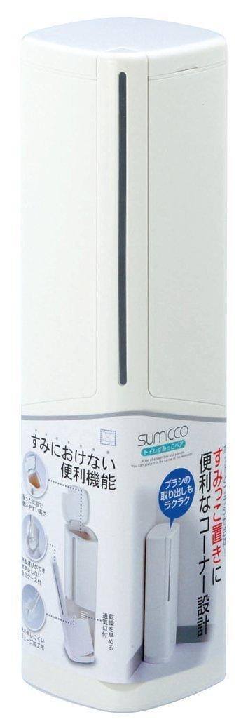 【送料無料】【日本製】 トイレすみっこ ペア ホワイト 12個セット ブラシ