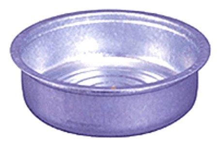 【送料無料】 【6個セット】 トタン タライ #28 54cm 土井金属【日本製】 昔ながら トタン製 たらい 内径54cm
