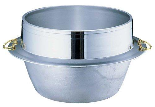 【送料無料】【日本製】 ウルシヤマ金属 キング釜 カン付 36cm 5升2合炊き 釜