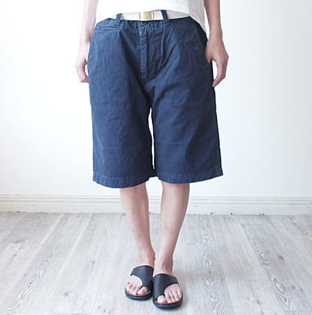 MASTERCo.(マスターアンドコー)ベルト付きチノショートパンツ CHINO SHORT PANTS WITH BELT