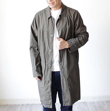 コート メンズ ユニセックス  MANUAL ALPHABET(マニュアルアルファベット)ヨークスリーブシャツコート