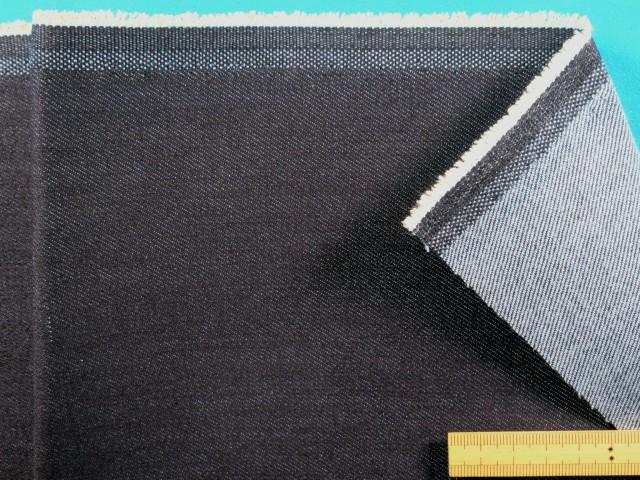 綿ストレッチデニム生地紺 120cm幅 内祝い 驚きの値段で 2m