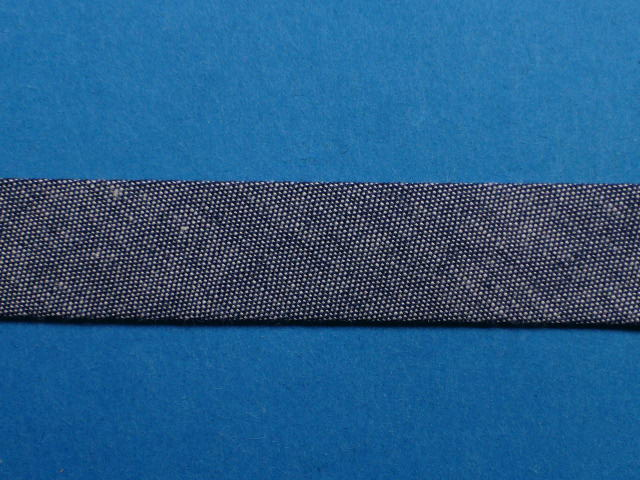 24259 ダンガリーバイアス(両折れタイプ)紺系(18mm幅 8m巻)
