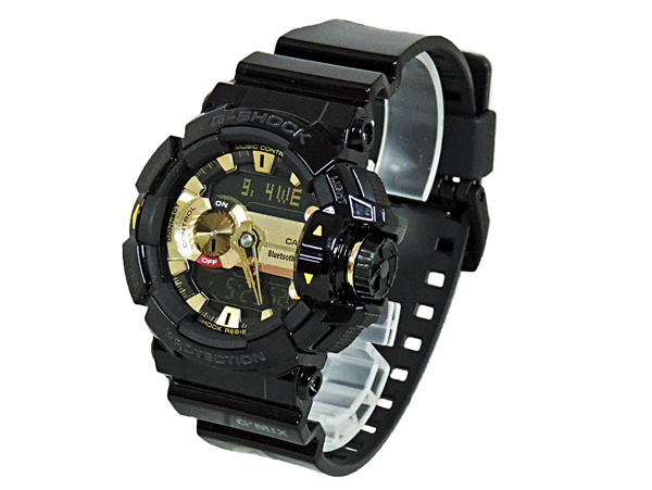 【送料無料】【あす楽対応】【正規品】CASIO G-SHOCK(カシオ ジーショック) G'MIX(ジーミックス)GBA-400-1A9JF Bluetooth ミュージックコントロール 腕時計