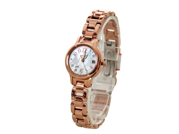 【送料無料】【あす楽対応】【正規品】CITIZEN Wicca(シチズン ウィッカ) KH4-963-91 限定モデル ソーラテック レディース腕時計