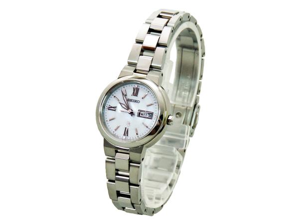 【送料込み】【あす楽対応】【正規品】SEIKO LUKIA(セイコールキア) SSVN029 ソーラーデイデイト レディース腕時計