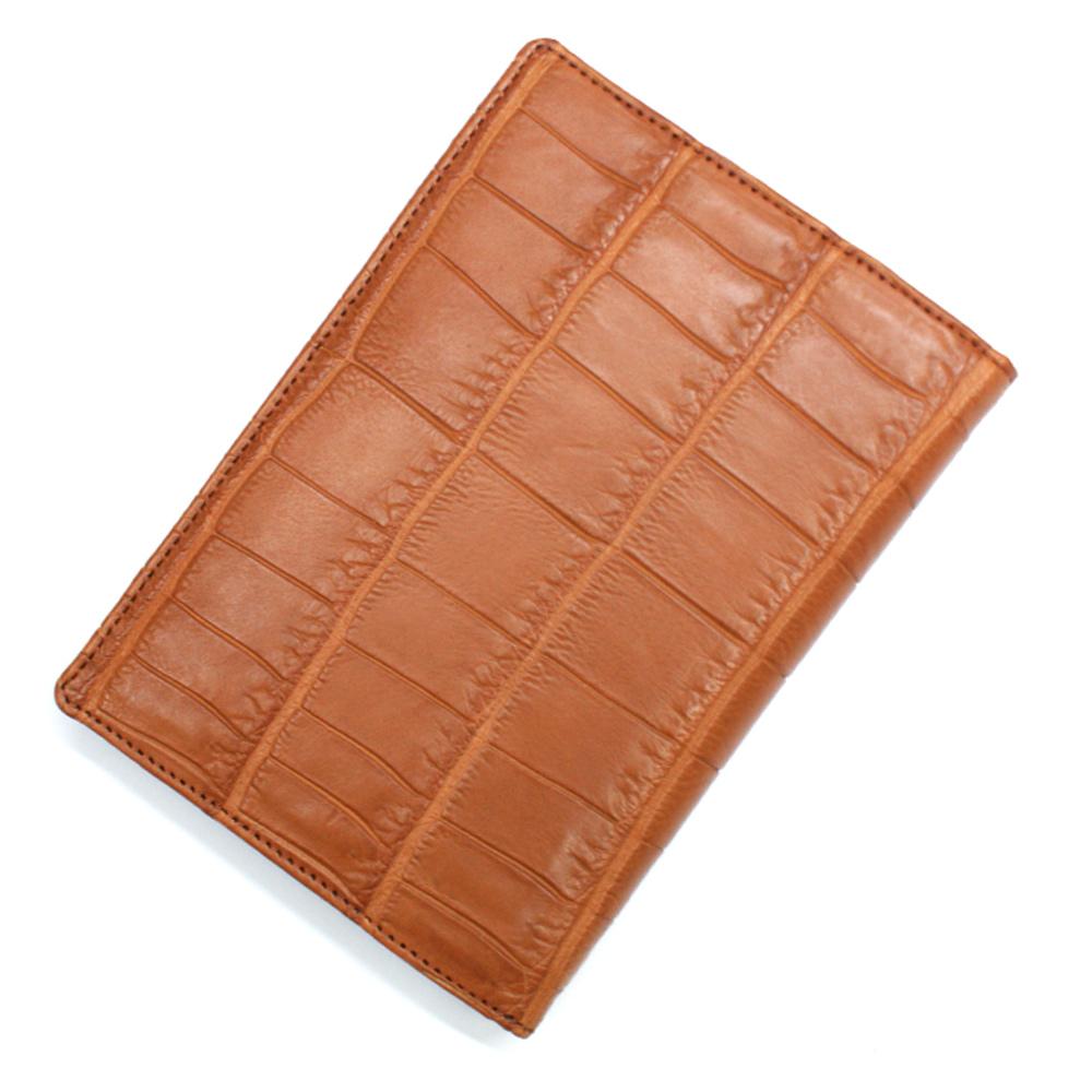 カードケース レディース メンズ クロコダイル ワニ革 レザー 革 薄型 大容量 ポイントカード入れ クレジットカード入れ カードホルダー マット ブラウン