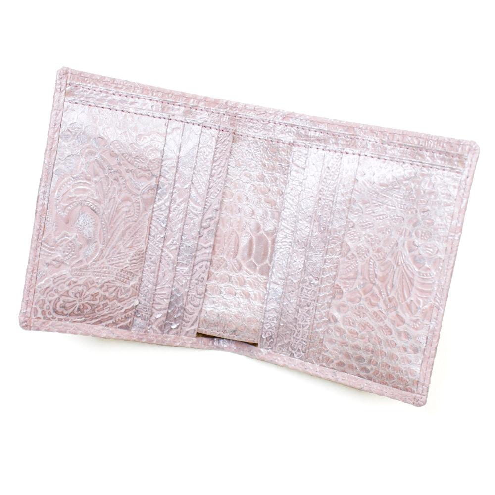 97b03283255b 全面パイソン革 通販 蛇革 のカード収納豊富な折り財布 財布 公式通販 二 ...