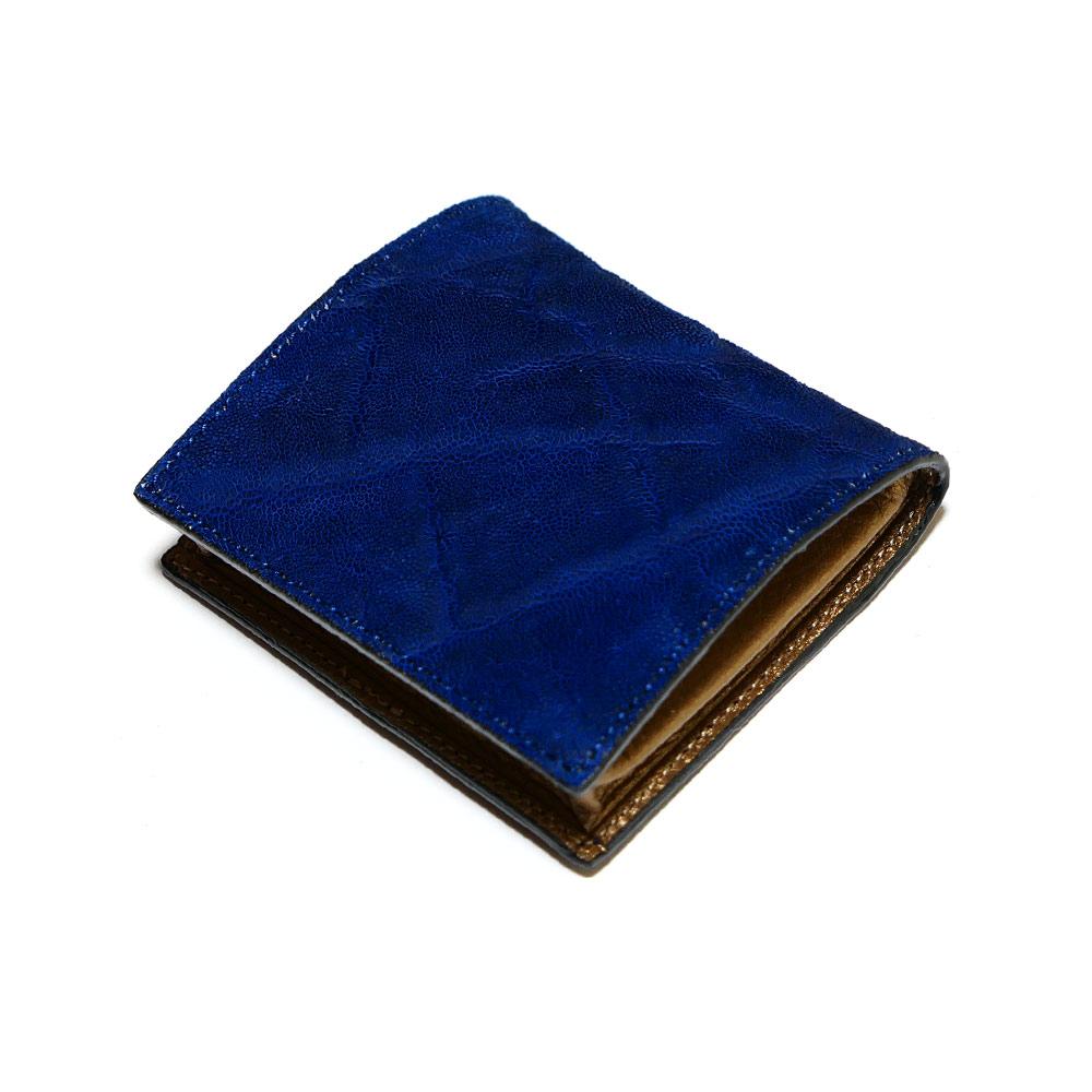 コインケース 小銭入れ ボックス型小銭入れ メンズ レディース 本革 エレファント 象革 ゾウ革 藍染