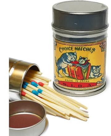 捧呈 ナカムラマッチが古燐票 明治 大正の頃のマッチラベル 価格 交渉 送料無料 を缶マッチラベルで再現 レトロラベル缶マッチ 今回のレトロラベルは 猫003 猫-3種類をご用意いたしました