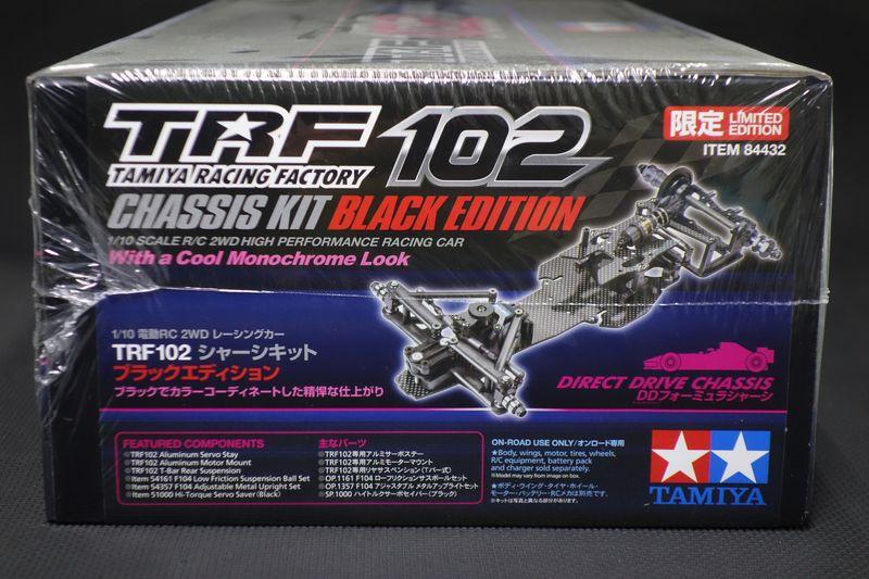 1/10RC TRF102シャーシキット ブラックエディション