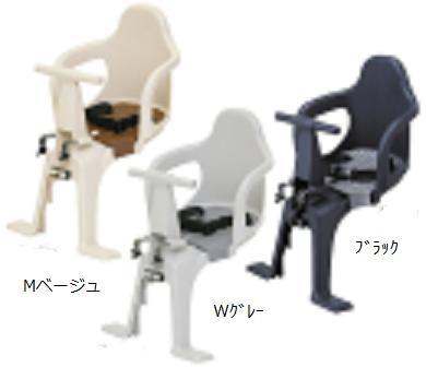 [OGK]「前子供乗せ」FBC-003S2・適用年齢:1歳(12ヶ月)以上4歳(48ヶ月)未満・適用身長:100cm以下・適用体重:15kg未満・適用ハンドルポスト径:ф22.2mm・重量:約1.7kg
