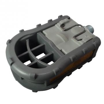 物品 定番スタイル 小径車や輪行におすすめカラー:グレーペダル軸サイズ:1 2 細芯H-ペダル MKS 三ヶ島 FD-5 プレート 折りたたみ両面踏みペダル レバーを引きながら側板をスライドして折りたためる リフレクター付 プラスチック製軽量折りたたみペダル ナイロンボディ