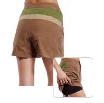 SPORT lady shorts【メリダ】ブラウンW/PAD